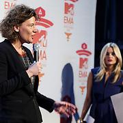 NLD/Amsterdam/20131109 - Pressconference MTV EMA 2013,