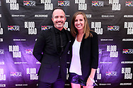 Nicholas Schrunk and attendees on the red carpet at the screening of Blood Road at the Bluebird Theater in Denver, CO, USA on 27 June, 2017.