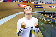 Women Individual Pursuit, Lisa Brennauer (Germany) during the Track Cycling European Championships Glasgow 2018, at Sir Chris Hoy Velodrome, in Glasgow, Great Britain, Day 3, on August 4, 2018 - Photo Luca Bettini / BettiniPhoto / ProSportsImages / DPPI