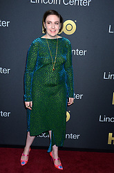 Lena Dunham attending the 2018 Lincoln Center American Songbook gala honoring HBO's Richard Plepler at Alice Tully Hall, Lincoln Center on May 29, 2018 in New York City, NY, USA. Photo by Dennis Van Tine/ABACAPRESS.COM