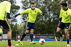 June 6, 2017 - Helsingborg, SVERIGE - 170606 Egzon Binaku under en trÅning med U21-landslaget i fotboll den 6 juni 2017 i Helsingborg  (Credit Image: © Ludvig Thunman/Bildbyran via ZUMA Wire)
