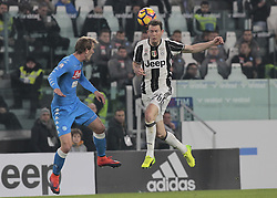February 28, 2017 - Turin, Italy - Stephan Lichtsteiner during Tim Cup 2016/2017 match between Juventus v Napoli, in Turin, on February 28, 2017  (Credit Image: © Loris Roselli/NurPhoto via ZUMA Press)