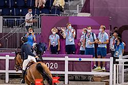 Baryard-Johnsson Malin, SWE, Indiana, 385, Team Sweden<br /> Olympic Games Tokyo 2021<br /> © Hippo Foto - Dirk Caremans<br /> 06/08/2021