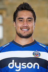 Leroy Houston of Bath Rugby poses for a head shot at the club's training ground - Photo mandatory by-line: Rogan Thomson/JMP - 28/08/2014 - SPORT - RUGBY UNION - Farleigh House, Bath - Bath Rugby Media Day 2014/15 - Aviva Premiership.