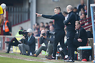 Scunthorpe United Caretaker Manager Andy Dawson  during the EFL Sky Bet League 1 match between Scunthorpe United and AFC Wimbledon at Glanford Park, Scunthorpe, England on 30 March 2019.