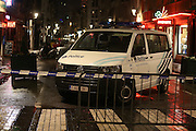 Nov. 22, 2015 - Brussels, BELGIUM - 20151122 - BRUSSELS, BELGIUM: <br /> <br /> With the terrorist threat level updated to Level Four, the maximum, in Brussels region, shopping centers, main shopping streets, subways and public events are closed for the week-end<br /> ©Exclusivepix Media