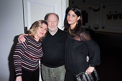 Left to right, HARRIET HARPER, NIC ROEG and KATRINA PAVLOS at a screening of the short film 'Away We Stay' directed by Edoardo Ponti held at The Electric Cinema, Portobello Road, London W1 on 15th November 2010.