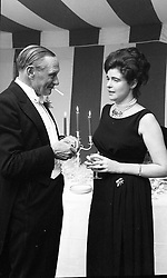 MR EDWARD KIDD and LADY JEAN CAMPBELL at a party in Somerset in September 1961.