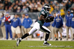 Philadelphia Eagles wide receiver Jason Avant #81 carries the ball during the NFL Game between the Indianapolis Colts and the Philadelphia Eagles. The Eagles won 26-24 at Lincoln Financial Field in Philadelphia, Pennsylvania on Sunday November 7th 2010. (Photo By Brian Garfinkel)