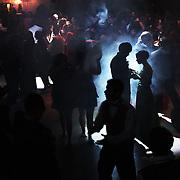 High schoolers get their kicks on the Pavilion dance floor during SnoBall, Dec. 6, 2008. THOMAS PATTERSON   Statesman Journal