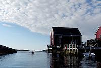 Bud at Hustadvika, Møre og Romsdal..