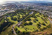 Punchbowl, National Cemetary of the Pacific, Honolulu, Oahu, Hawaii