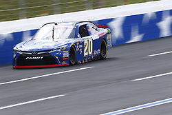 September 27, 2018 - Concord, North Carolina, United States of America - Christopher Bell (20) races down the back straightaway during practice the Drive for the Cure 200 at Charlotte Motor Speedway in Concord, North Carolina. (Credit Image: © Chris Owens Asp Inc/ASP via ZUMA Wire)