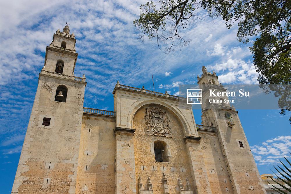 Merida Cathedral, Merida, Yucatan State, Mexico