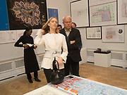 ELENA PERIMNOVA; ALEXANDER LEBEDEV; ,, Royal Academy of Arts Summer Party. Burlington House, Piccadilly. London. 7June 2017