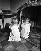 'Little Angels'- children from the Civics Institute of Ireland's nursery centres, sing at the opening of the crib at the Mansion House. ..04.12.1969