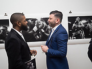 JOEL BRAVETTE; JON ARNOLD, Private view: Tony McGee - Within a Split second- photos of boxers and & Stephen Newton,- Drawings Bermondsey Project Space. London. 28 March 2017