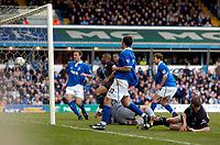 Photo: Richard Lane.Digitalsport<br /> Birmingham City v Leicester City. FA Barclaycard Premiership. 13/03/2004.<br /> Leicester score their first goal through Muzzy Izzet.