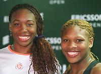 v.l.: Venus und Serena WILLIAMS<br />            Tennisspielerin     USA Venus WILLIAMS