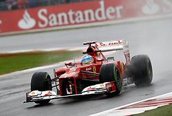 Motorsports: FIA Formula One World Championship 2012, Grand Prix of Great Britain, .#5 Fernando Alonso (ESP, Scuderia Ferrari),