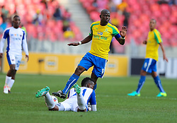 Hlompho Kekana of Mamelodi Sundowns during the 1st leg of the MTN8 Semi Final between Chippa United and Mamelodi Sundowns held at the Nelson Mandela Bay Stadium in Port Elizabeth, South Africa on the 11th September 2016<br /><br />Photo by: Richard Huggard / Real Time Images