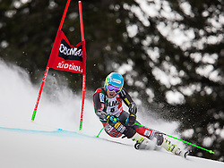 22.12.2013, Gran Risa, Alta Badia, ITA, FIS Ski Weltcup, Alta Badia, Riesenslalom, Herren, 1. Durchgang, im Bild Ted Ligety (USA) // Ted Ligety of the USA in action during mens Giant Slalom of the Alta Badia FIS Ski Alpine World Cup at the Gran Risa Course in Alta Badia, Italy on 2012/12/22. EXPA Pictures © 2013, PhotoCredit: EXPA/ Johann Groder