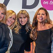 NLD/Amsterdam/20200129 - Persconferentie Dolly Dots tour 2020, Angela Kramers, Angela Groothuizen, Anita Heilker, Esther Oosterbeek en Patty Zomer