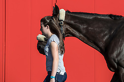 Team Canada<br /> Departure of the horses to the Rio Olympics from Liege Airport - Liege 2016<br /> © Hippo Foto - Dirk Caremans<br /> 30/07/16