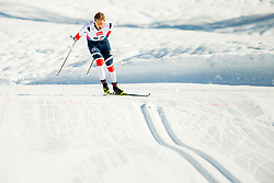 January 31, 2018 - Goms, SWITZERLAND - 180131 Erik Valnes of Norway competes in the men's 15km classic technique interval start during the FIS U23 Cross-Country World Ski Championships on January 31, 2018 in Obergoms..Photo: Vegard Wivestad GrÂ¿tt / BILDBYRN / kod VG / 170091 (Credit Image: © Vegard Wivestad Gr¯Tt/Bildbyran via ZUMA Press)