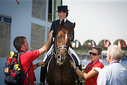 Vanommeslaghe Laurence, (BEL), Avec Plaisir<br /> European Championships - Aachen 2015<br /> © Hippo Foto - Dirk Caremans<br /> 13/08/15
