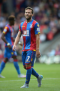 Yohan Cabaye of Crystal Palace looks on. Barclays Premier league match, Crystal Palace v Arsenal at  Selhurst Park in London on Sunday 16th August 2015.<br /> pic by John Patrick Fletcher, Andrew Orchard sports photography.