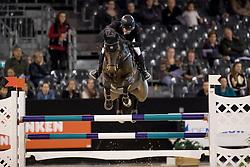 Schröder Gerco, (NED), Glock's Dobelensky<br /> Jumping Indoor Maastricht 2016<br /> © Hippo Foto - Dirk Caremans<br /> 12/11/2016