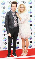 Nick Grimshaw; Rita Ora, BBC Radio 1 Teen Awards, Wembley Arena, London UK, 03 November 2013, Photo by Richard Goldschmidt © Licensed to London News Pictures. Photo credit : Richard Goldschmidt/Piqtured/LNP