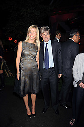 TIM & LADY HELEN TAYLOR at the annual Serpentine Gallery Summer Party in Kensington Gardens, London on 9th September 2008.