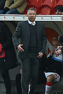 Darren Ferguson manager of Doncaster Rovers  during the Sky Bet League 1 match between Doncaster Rovers and Millwall at the Keepmoat Stadium, Doncaster, England on 27 February 2016. Photo by Ian Lyall.