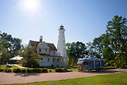 North Point Lighthouse & Heritage Event Aug. 22, 2018, in Milwaukee. (Photo © Andy Manis)