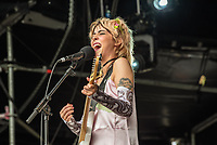 YNES live at the Bigfoot Festival Ragley Hall Warwickshire one of the first festivals to open successfully in 2021 photo by Mark anton Smith