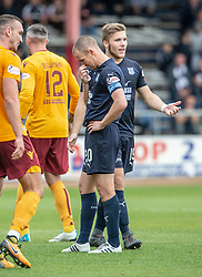 Dundee's Kenny Miller. Dundee 1 v 3 Motherwell, SPFL Ladbrokes Premiership game played 1/9/2018 at Dundee's Kilmac stadium Dens Park