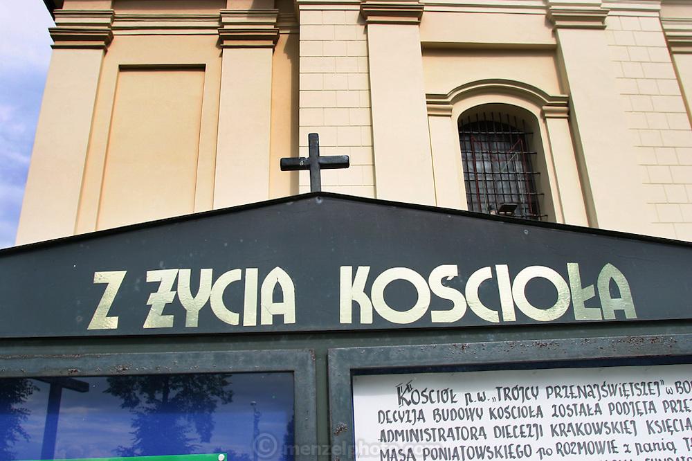 Cemetery Z Zycia Kosciola near Babice, Poland (E. of Krakow).
