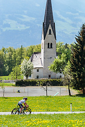 25.04.2018, Gnadenwald, AUT, ÖRV Trainingslager, UCI Straßenrad WM 2018, im Bild Gregor Mühlberger (AUT) // during a Testdrive for the UCI Road World Championships in Gnadenwald, Austria on 2018/04/25. EXPA Pictures © 2018, PhotoCredit: EXPA/ JFK