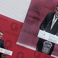 Toluca,  Mex -  Isidro Munoz Rivera, durante la presentacion del Plan de  Desarrollo Estatal 2011-2017 del gobernador Eruviel Avila Villegas.   Agencia MVT / Jose Hernadez
