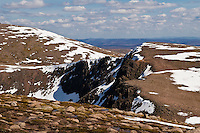 Cairngorm mountains in late spring, Scotland