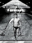 Portrait of a Disabled Swimmer<br /> Photography by Zac Macaulay<br /> Tel 0044 07947 884 517<br /> www.linkphotographers.com