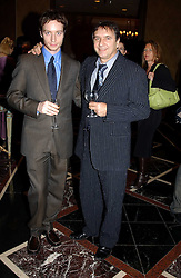 Left to right, SEBASTIAN BLANC and his father RAYMOND BLANC at the Tatler Restaurant Awards in association with Champagne Louis Roederer held at the Four Seasons Hotel, Hamilton Place, London W1 on 10th January 2005.<br /><br /><br />NON EXCLUSIVE - WORLD RIGHTS