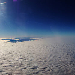 iPhone5 Air France aeroplane panorama