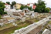 Roman Forum Ruins, Plovdiv, Bulgaria