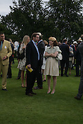 The Marquess and Marchioness of Hamilton, Glorious Goodwood. 2 August 2007.  -DO NOT ARCHIVE-© Copyright Photograph by Dafydd Jones. 248 Clapham Rd. London SW9 0PZ. Tel 0207 820 0771. www.dafjones.com.