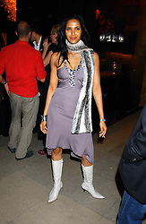 PADMA LAKSHMI  at a party to celebrate the first 20 years of fashion label Donna Karan held at her store at 19/20 New Bond Street, London W1 on 21st September 2004.<br /><br />NON EXCLUSIVE - WORLD RIGHTS