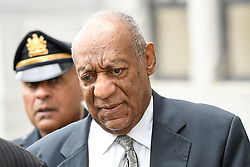June 17, 2017 - Norristown, Pennsylvania, U.S - BILL COSBY, walks up to the court house in Montgomery County with his spokes person, ANDREW WYATT, on the sixed day of jury deliberations (Credit Image: © Ricky Fitchett via ZUMA Wire)