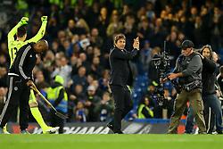 Chelsea manager Antonio Conte applauds the fans - Mandatory by-line: Jason Brown/JMP - 08/05/17 - FOOTBALL - Stamford Bridge - London, England - Chelsea v Middlesbrough - Premier League